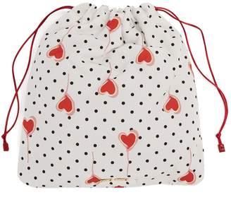 Miu Miu Heart-print nylon pouch