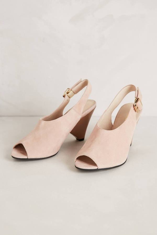 Anthropologie Fontaine Slingbacks