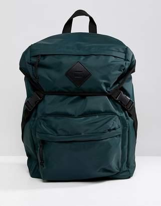 New Look backpack in dark green
