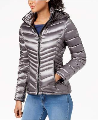 Calvin Klein Hooded Packable Puffer Coat