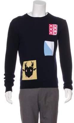 J.W.Anderson Wool Crew Neck Sweater