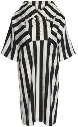 Nina Ricci Striped Silk Dress