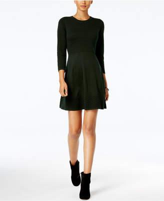 Jessica Howard Petite Fit & Flare Sweater Dress