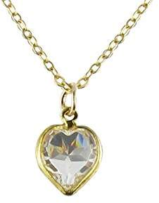 Swarovski Lény & Roméo Romeo &Lény Pendant Necklace with Heart Design with Crystal 42 cm BM1522000OR