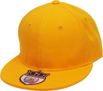 KNW-2364 BUR The Real Original Fitted Flat-Bill Hats by KBETHOS True-Fit, 9 Sizes & 20 Colors