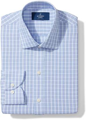 Buttoned Down Men's Slim Fit Spread Collar Pattern Shirt