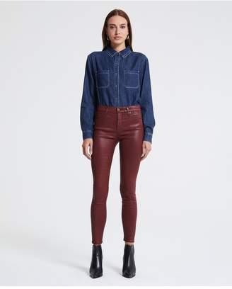 AG Jeans The Farrah Ankle - Vintage Leatherette Lt Tannic