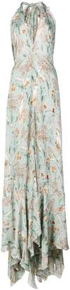 Johanna Ortiz long floral dress