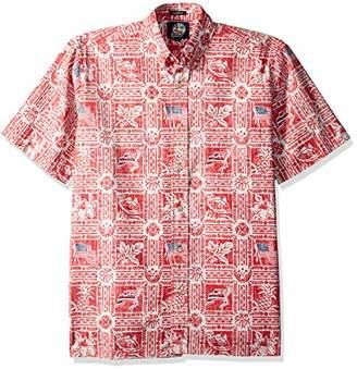 Reyn Spooner Men's Summer Commemorative Spooner Kloth Classic Fit Shirt