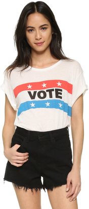 Wildfox Vote Tee $64 thestylecure.com