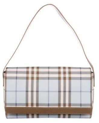Burberry Nova Check Flap Bag