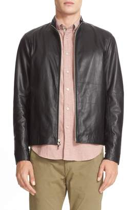 Rag & Bone Agnes Lambskin Leather Jacket