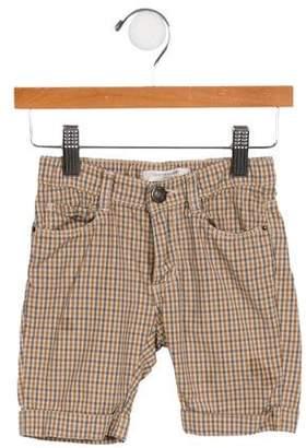 Caramel Baby & Child Girls' Plaid Shorts