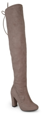Journee Collection Maya Wide Calf Over The Knee Boot $100 thestylecure.com