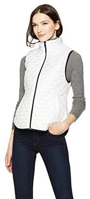 Haven Outerwear Women's Onion Quilted Packable Faux Down Vest
