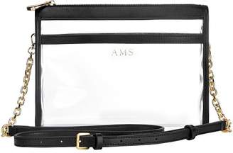 clear Mark And Graham Crossbody with Chain