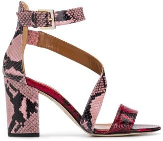 Paris Texas block heel sandals