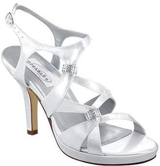 Dyeables Women's Claire Leather Platform Sandal