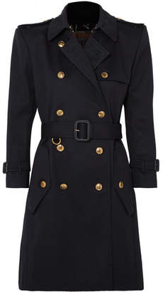 Givenchy Cotton-twill Trench Coat - Navy