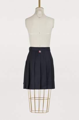 Thom Browne Wool pleated skirt
