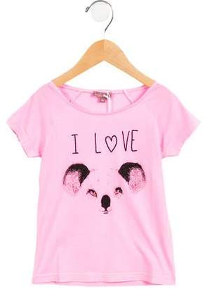 Emile et Ida Girls' I Love Koala T-Shirt w/ Tags