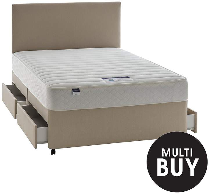 Miracoil 3 Celine Memory Divan With Optional Storage And Half-Price Headboard Offer