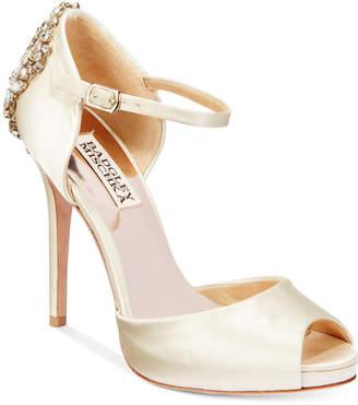 Badgley Mischka Dawn d'Orsay Evening Sandals Women's Shoes
