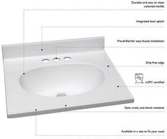 Andover Mills Rhodes 19 Single Bathroom Vanity Top