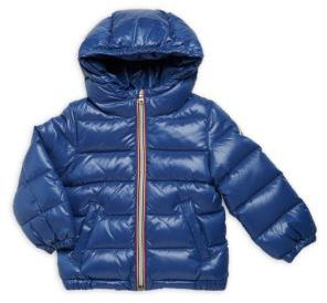 Baby's Hooded Puffer Jacket $295 thestylecure.com
