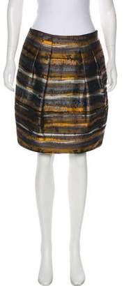 Lafayette 148 Brocade Mini Skirt w/ Tags