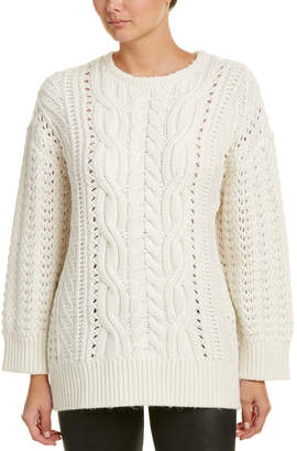 The Kooples Cable-Knit Alpaca & Wool-Blend Sweater