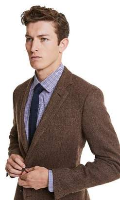 Todd Snyder Made in USA Black Label Sutton Unconstructed Herringbone Sportcoat in Brown