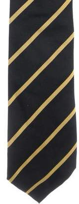 Ralph Lauren Purple Label Striped Silk Tie w/ Tags