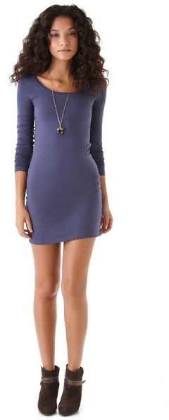 Splendid Long Sleeve Mini Dress