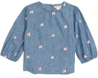 J.Crew crewcuts by Unicorn Chambray Popover Shirt