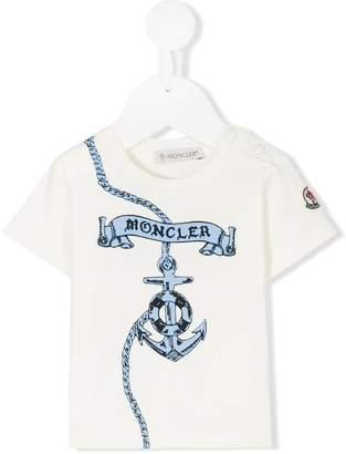 Moncler Sailor print T-shirt