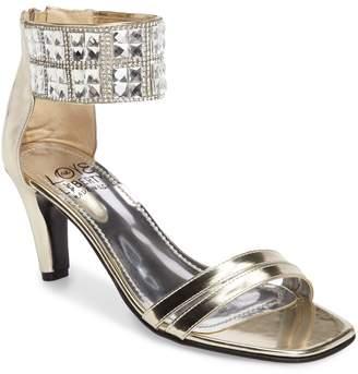 Love and Liberty Scarlett Crystal Embellished Evening Sandal