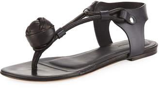Isabel Marant Jarley Leather Thong Sandal