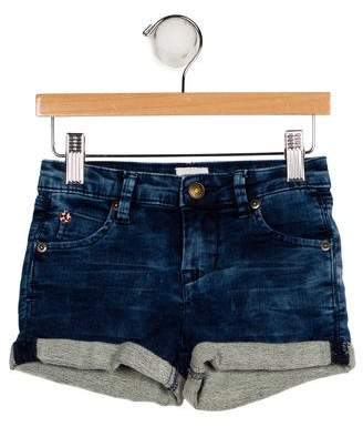 Hudson Girls' Denim Mini Shorts