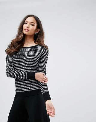 Shae Stripe Crew Neck Sweater