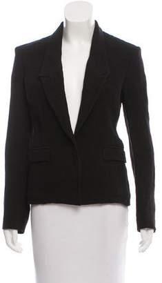 CNC Costume National Tailored Linen Blazer