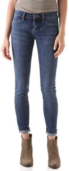 Blank Denim Spray On Skinny Jeans