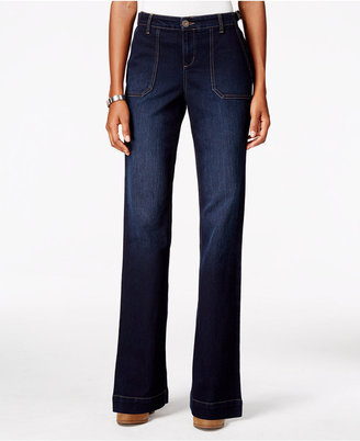 Style & Co. Jewel Wash Trouser Jeans, Only at Macy's $54.50 thestylecure.com