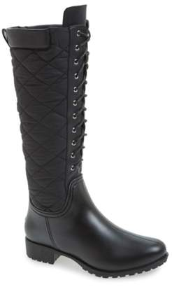 dav 'Tofino' Quilted Tall Waterproof Rain Boot