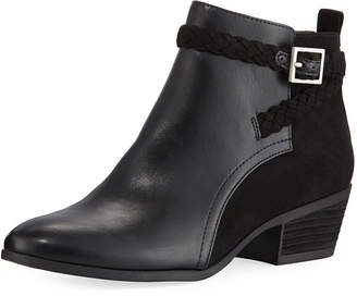 Sam Edelman Pippa Faux-Leather Ankle Booties