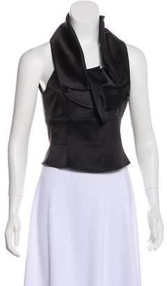 Emporio Armani Silk Sleeveless Top