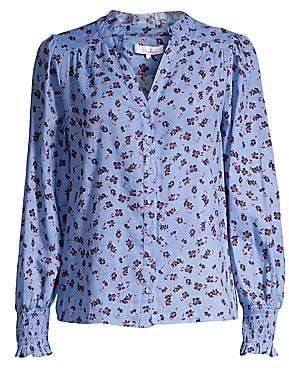 Parker Women's Sophie Long Sleeve Button-Down Blouse