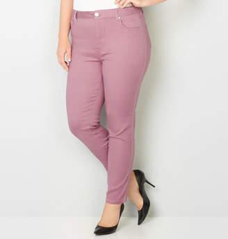 Avenue Butter Denim Skinny Jean in Mauve