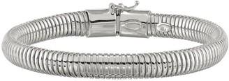 """Italian Silver 7-1/2"""" Snake Chain Bracelet, 12.4g"""