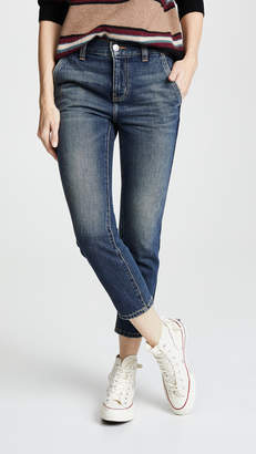 Current/Elliott The Cropped Confidant Trouser Jeans